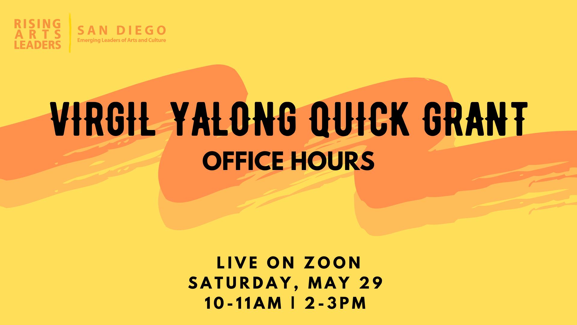 Virgil Yalong Quick Grants